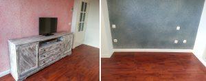 #pinturagoteele #restauraciondemuebles #instalaciondetarima